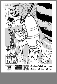 Augmented reality coloring pages ~ Coloring Packs - QuiverVision 3D Augmented Reality ...