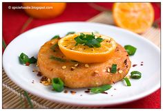 Mandarin Miso Salmon Medallions by Spicie Foodie #Salmon #Miso #Orange #Spicie_Foodie