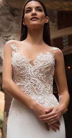 Milla Nova Bridal 2017 Wedding Dresses dina2 / http://www.deerpearlflowers.com/milla-nova-2017-wedding-dresses/11/