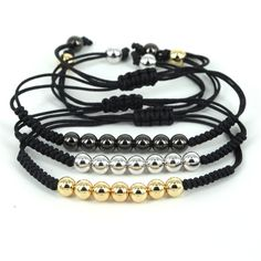 Image result for macrame bracelet with beads