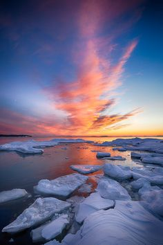 Fire & Ice, Southern Finland, by Jouko Ruuskanen, on 500px.