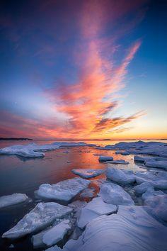 Fire & Ice, Southern Finland, by Jouko Ruuskanen, on 500px.