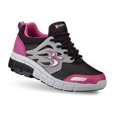 Gravity Defyer Women's G-Defy Galaxy Black Pink Athletic Shoes