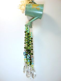 Watering Can Sun Catcher by WillowTreeLoft on Etsy