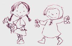 Dues nenes de conte