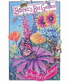 Burpee's Bee and Butterfly Flower Mix - Perennial Pollinators at Burpee.com