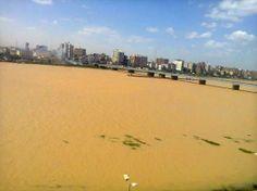 النيل فى سوهاج :)  The Nile river in Sohag