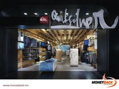 MONEYBACK MEXICO. QUICKSILVER, surfing and beach wear, has stores in Cancun, Acapulco, Puerto Vallarta, Playa del Carmen and several more in Mexico City. Shop Quicksilver, ask for a receipt, come to our modules and get a tax refund on your purchase! #moneyback www.moneyback.mx