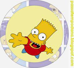 Los Simpson: Invitaciones, Tarjetas, Toppers y Stickers para Imprimir Gratis.