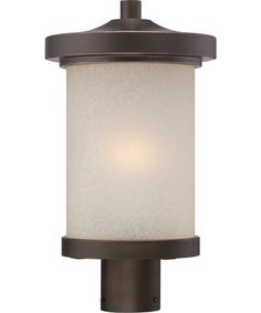 Nuvo Lighting Diego 9 Inch Wide 1 Light Outdoor Post Lamp