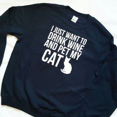 THE PERFECT GIFT FOR CAT LOVERS! We all know someone who is crazy for their kitty's! This sweater makes the perfect gift, useful and truthful! Order yours today in time for the big day!