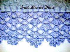 How to Make Crochet Look Like Knitting (the Waistcoat Stitch) Crochet Boarders, Crochet Edging Patterns, Crochet Lace Edging, Crochet Trim, Crochet Stitches, Stitch Patterns, Knit Crochet, Lace Doilies, Crochet Doilies
