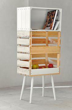 ¿Tienes una caja de frutas? Pues te damos 11 formas de ordenar y decorar con ella.