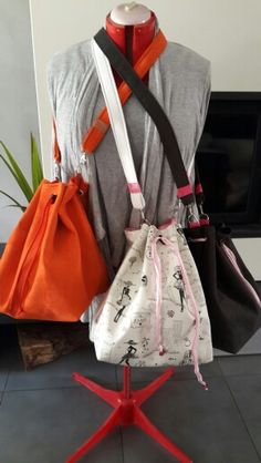 Sac bourses multipoches
