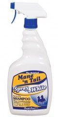 Mane 'n Tail Spray 'n White - a spray on whitening shampoo.