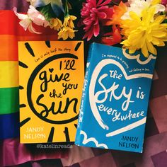 I'll Give You the Sun / The Sky is Everywhere by Jandy Nelson Books To Buy, Books To Read, The Sky Is Everywhere, Nelson Books, Sun Aesthetic, Jandy Nelson, Book Suggestions, World Of Books, Any Book