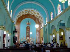 santurce puerto rico   PUERTO RICO Interior Iglesia Católica Sagrados Corazones, Santurce ...