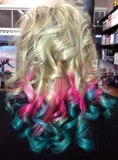 Manic Panic® dip dye at Gosh Hair Studio in Australia!