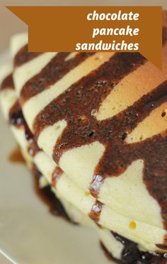 The Chew crew invited a Long Island mom to make a delicious Chocolate Pancake Sandwich recipe. http://www.foodus.com/the-chew-chocolate-pancake-sandwich-recipe/