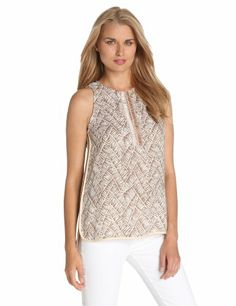 Manoukian Women's Embellished Long Top, Cinder Combo, Small Manoukian,http://www.amazon.com/dp/B00C82YNJ2/ref=cm_sw_r_pi_dp_9Cfmtb09Q34M8RCX