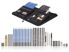 Castle Art Supplies Graphite Drawing Pencils and Sketch Set