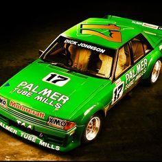 Dick Johnson Greens Tuf Ford Falcon