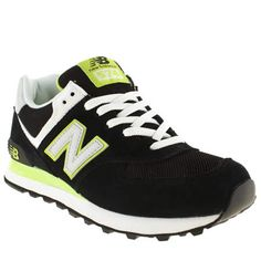 new balance lime green running shoes
