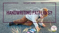 What are handwriting patterns?