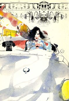 Paolo Galetto, illustrator, represented by Caroline Maréchal. Copyright Paolo Galetto. More information on http://www.caroline-marechal.fr/agent-illustrateurs/illustrateurs