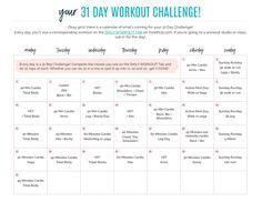 TIU31 challenge schedule