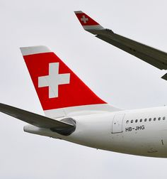 Swiss International Airlines Airbus A330-343E (registered HB-JHG)