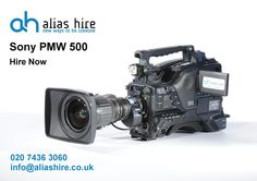 Sony PMW500 available for Hire - #XDCAM