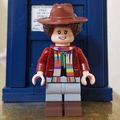 The Fourth Doctor Lego Minifigure! Harry Potter Advent Calendar, Lego Advent Calendar, Rose And The Doctor, I Am The Doctor, Lego Harry Potter, Harry Potter Universal, Lego Doctor Who, 4th Doctor, Lego Site