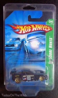 Hot Wheels 2007 Super Treasure Hunt Corvette C6R MOC #HotWheels