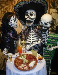 Día de los Muertos , Mexico.  Day of the Dead accessories available here: http://www.lafuente.com/Mexican-Art/Day-of-the-Dead/