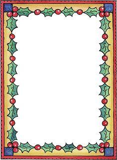 bordes para hojas de navidad - Imagenes y dibujos para imprimirTodo en imagenes y dibujos