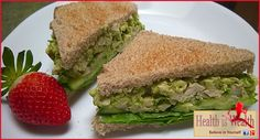 Strong and Beyond: Green Avocado Chicken Sandwich