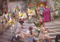 Wizard Of Oz Munchkins | honored as the town hero the wizard of oz 1939