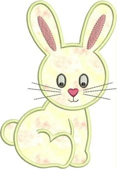 INSTANT DOWNLOAD Sexy Bunny Applique von DBembroideryDesigns