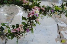 coronas de flor para niñas. Mayula Flores