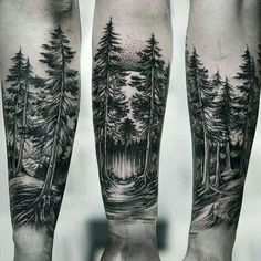 100 Forest Tattoo Designs for Men - Masculine Tree Ink Idea .- 100 Wald Tattoo Designs für Männer – Masculine Tree Ink Ideas 100 Forest Tattoo Designs for Men – Masculine Tree Ink Ideas - Inner Arm Tattoos, Forarm Tattoos, Inner Forearm Tattoo, Tattoos Arm Mann, Skull Tattoos, Leg Tattoos, Black Tattoos, Body Art Tattoos, Sleeve Tattoos