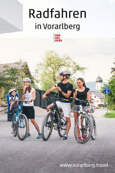 Weitläufig und eben oder supersteil? Familienfreundlich und erholsam oder sportlich herausfordernd? Für Ausflüge mit dem Rad oder Mountainbike sind Vorarlbergs Landschaften wie geschaffen. Alle Tipps rund ums Thema Rad & Bike finden Sie hier. Landscapes, Bicycling, Travel Advice, Sporty, Round Round, Vacation