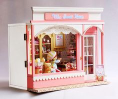 diy kid doll house miniature furniture candy stores wooden toy house for sale in aliexpresscom buy 112 diy miniature doll house