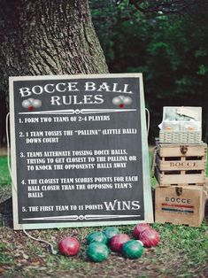 Movie Night Ideas Discover Fathers Day Gift for Dad Bocce Ball Rules Bocce Ball Sign Poster Outdoor Party Games Backyard Games Yard Signs Wedding Lawn Games Outdoor Yard Games, Backyard Games, Backyard Bbq, Outdoor Parties, Backyard Ideas, Outdoor Fun, Outdoor Ideas, Diy Outdoor Party, Garden Games