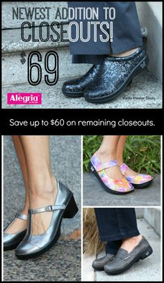 New addition to $69 Closeouts! | Alegria Shoe Shop #AlegriaShoes #closeouts #sale