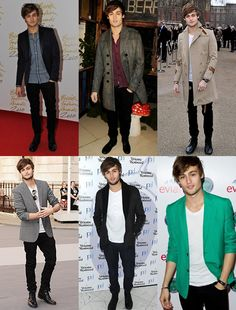 Dressing Your Age: Twenties (20s) via fashionbeans.com CelebFashion: Douglas Booth (19) #mensfashion