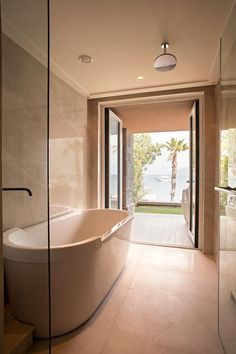 Guest Bath at the Caresse Resort and Spa in Bodrum