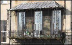 Balconies and Verandas cast iron Wooden Ironwork Georgian Victorian Balcony Window, Bedroom Balcony, Garden Ideas Uk, Dormer Bungalow, Cast Iron, It Cast, Victorian Porch, Back Porches, Georgian Architecture