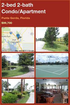 2-bed 2-bath Condo/Apartment in Punta Gorda, Florida ►$99,700 #PropertyForSale #RealEstate #Florida http://florida-magic.com/properties/2221-condo-apartment-for-sale-in-punta-gorda-florida-with-2-bedroom-2-bathroom