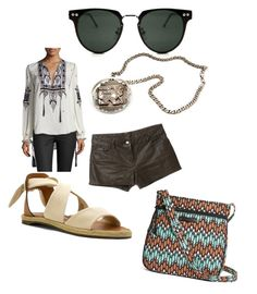 """""""hipster look #2"""" by disnerdamy224 ❤ liked on Polyvore featuring Haute Hippie, Aymara, SeaVees, Vera Bradley and Spitfire"""